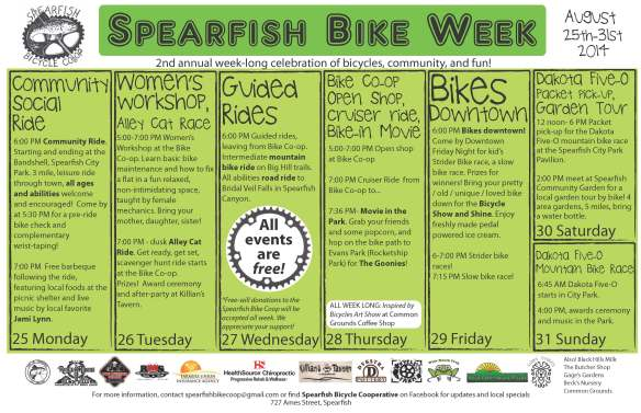 2014_spearfish bike week_11x17_print