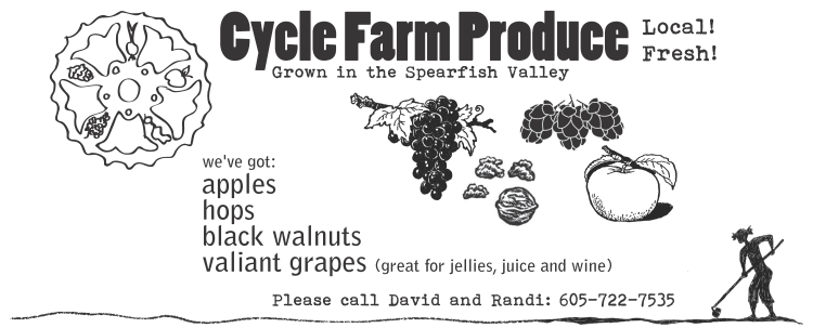 Cycle Farm 2011 harvest flier